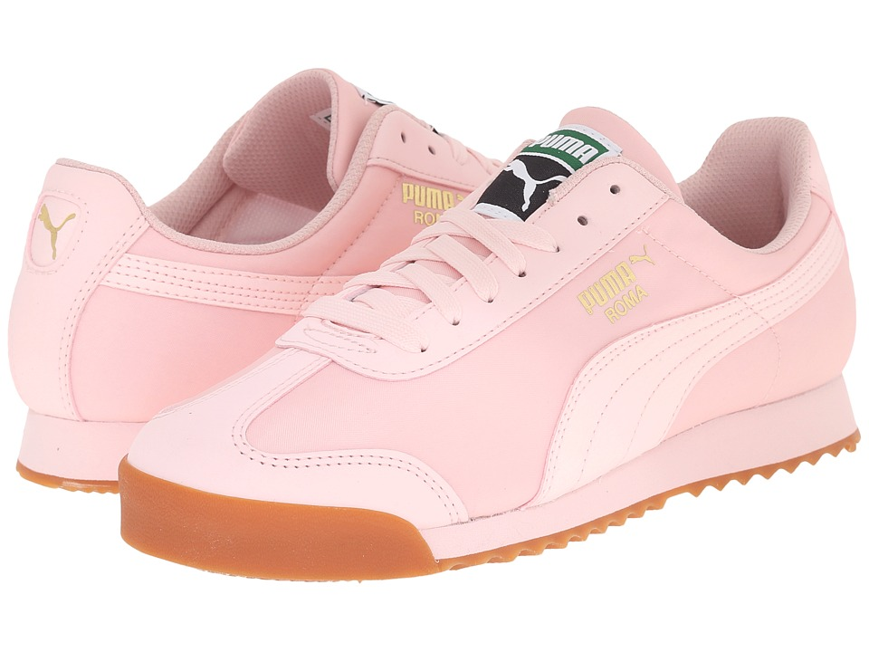 Puma Kids - Roma Basic Summer (Little Kid/Big Kid) (Pink Dogwood/Pink Dogwood) Girls Shoes