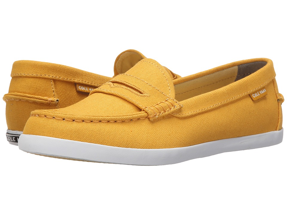 Cole Haan - Pinch Weekender (Mineral Yellow Canvas) Women's Slip on Shoes