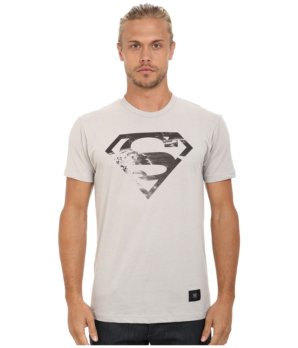 KINETIX - Superman Beach Tee (Grey) Men's T Shirt