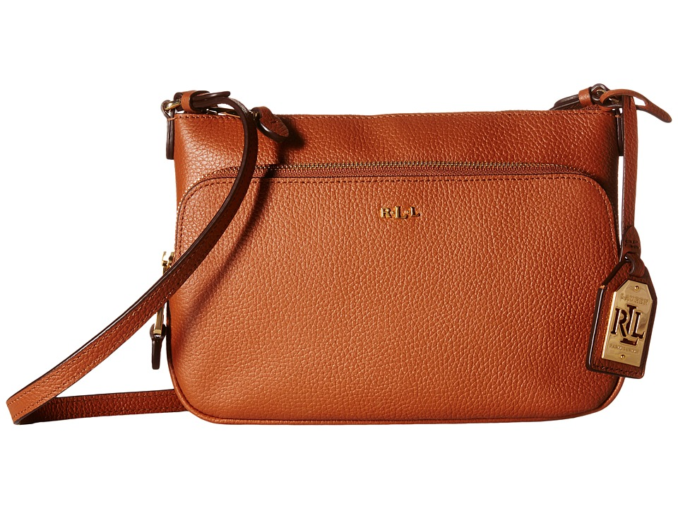 LAUREN Ralph Lauren - Harrington Crossbody (Lauren Tan) Cross Body Handbags