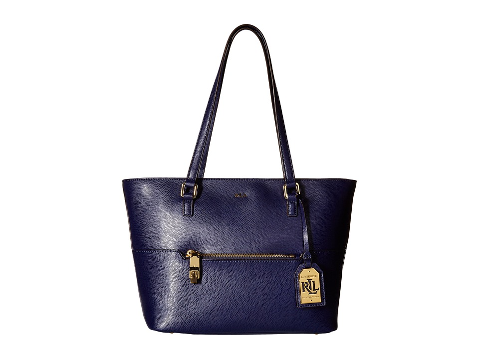 LAUREN Ralph Lauren - Whitby Pocket Shopper (Marine) Handbags