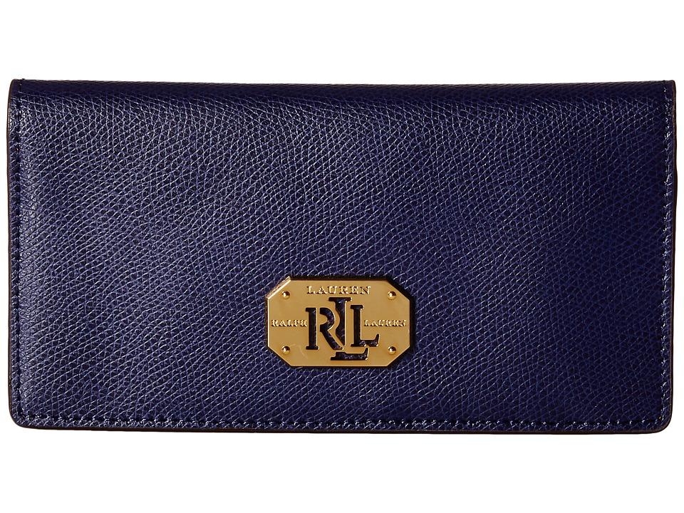 LAUREN Ralph Lauren - Whitby Slim Wallet (Marine) Wallet Handbags