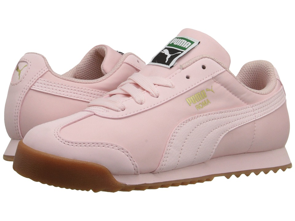 Puma Kids - Roma Basic Summer (Toddler/Little Kid/Big Kid) (Pink Dogwood/Pink Dogwood) Girls Shoes