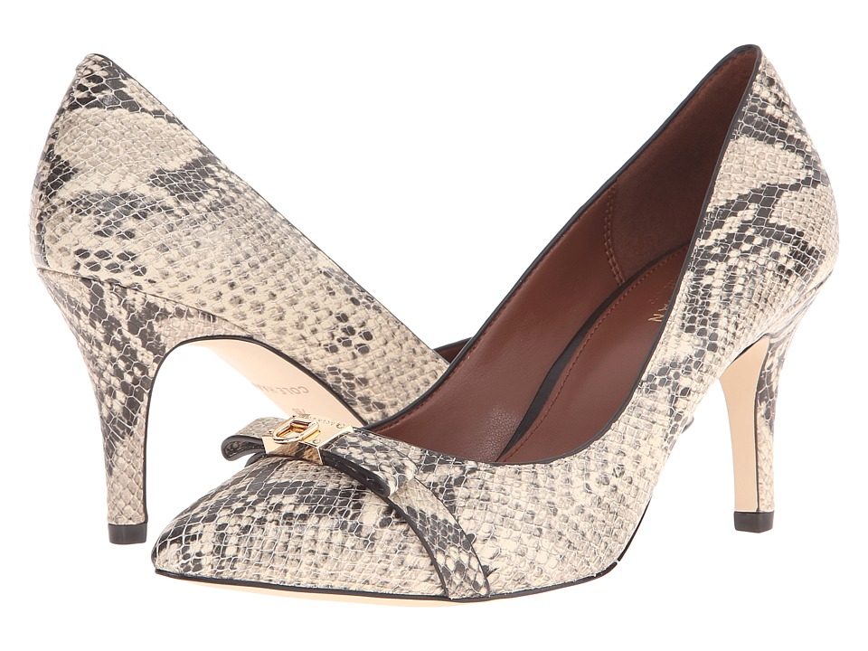 Cole Haan - Juliana Detail Pump 75mm (Roccia Snake Print) Women's Shoes
