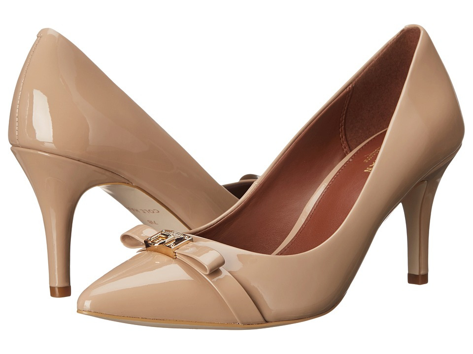 Cole Haan - Juliana Detail Pump 75mm (Maple Sugar) Women's Shoes