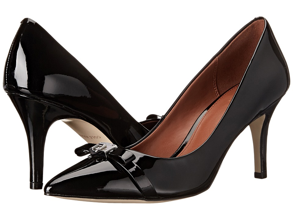 Cole Haan - Juliana Detail Pump 75mm (Black) Women's Shoes