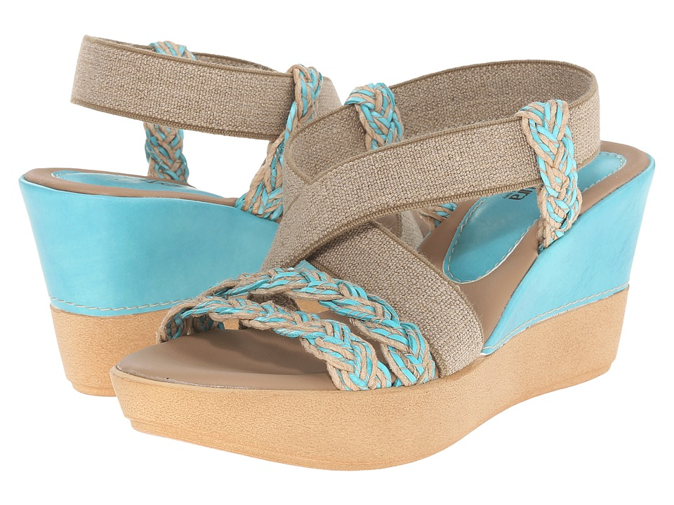 Spring Step - Rosemont (Blue) Women's Shoes