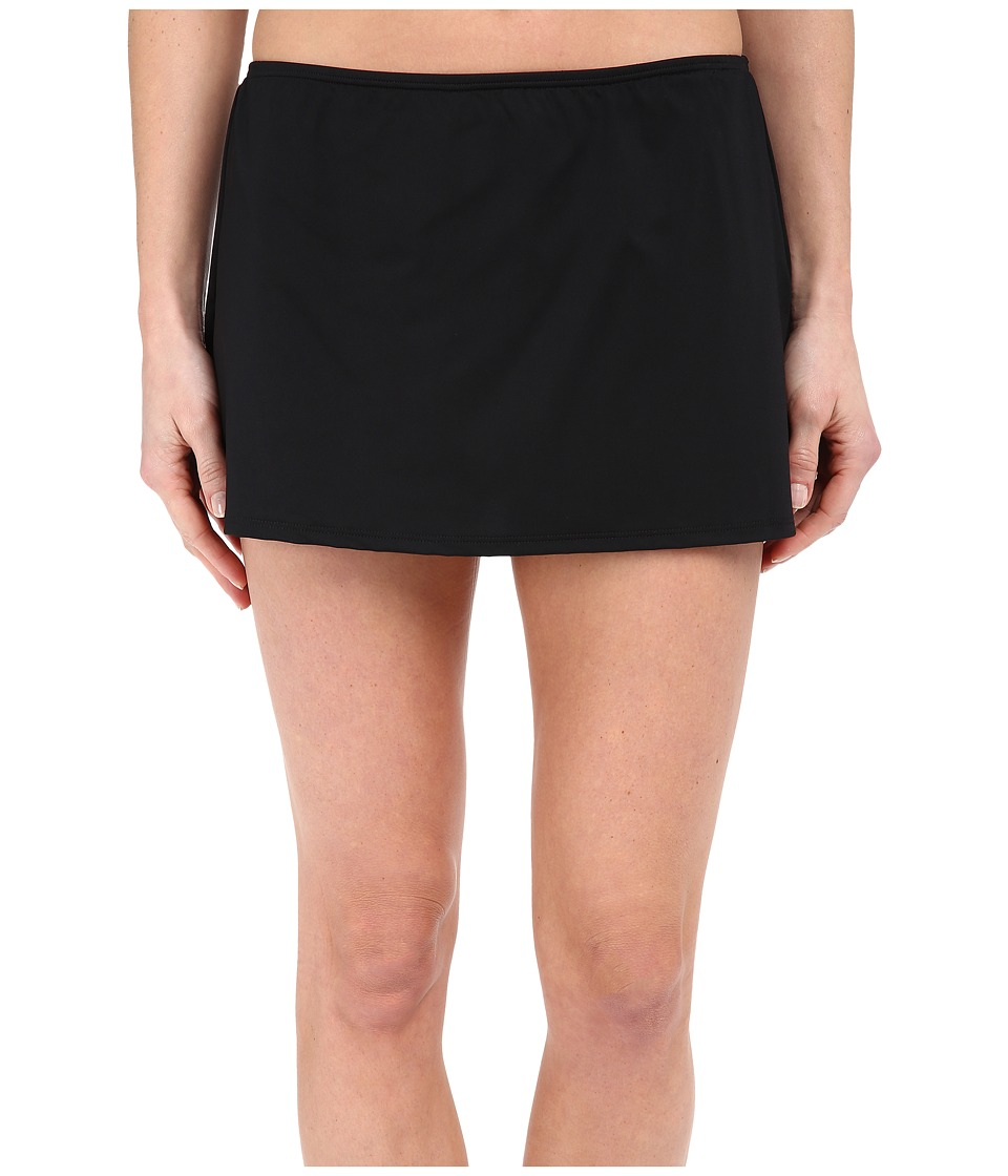 Jantzen - Solids Skirted Bottom (Black) Women's Swimwear