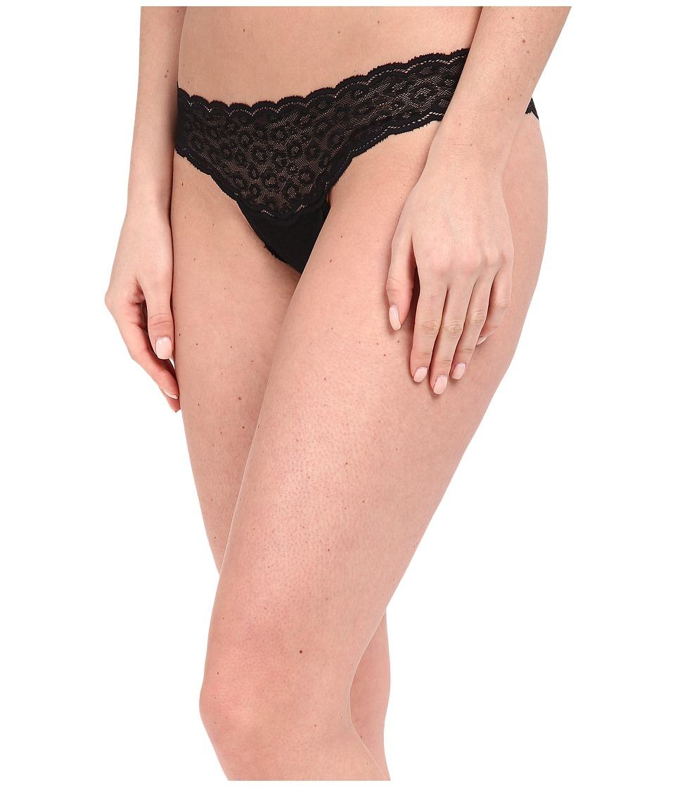 Cosabella - Sweet Treat Cheetah Thong TREAT0323 (Black) Women's Underwear