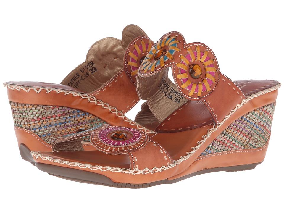 L'Artiste by Spring Step - Taffy (Camel) Women's Sling Back Shoes