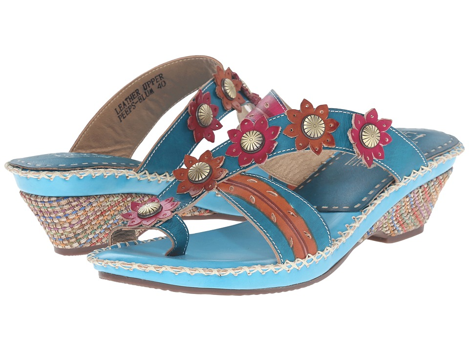 Spring Step Peeps (Blue) Women