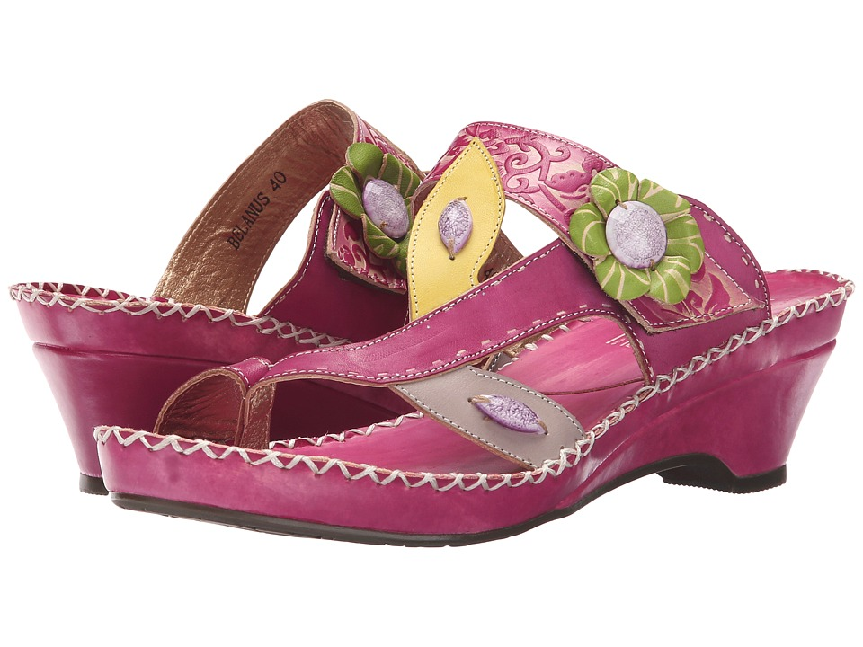 Spring Step - Belanus (Fuchsia) Women's Shoes