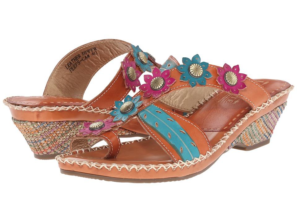 L'Artiste by Spring Step - Peeps (Camel) Women's Sandals