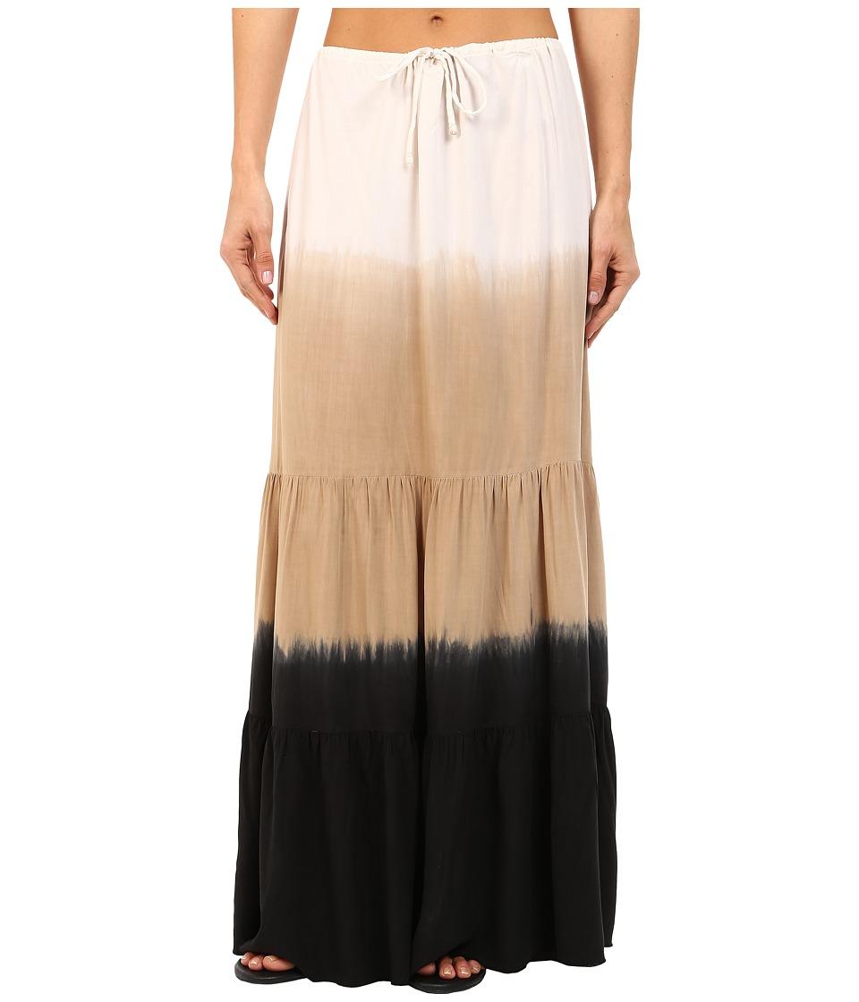 BECCA by Rebecca Virtue - Sunrise Midnight Skirt Cover-Up (Natural/Black) Women's Skirt