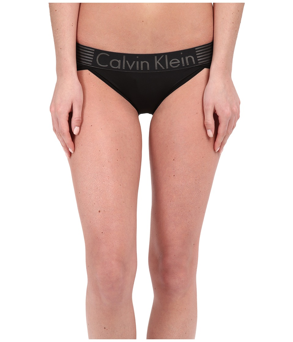 Calvin Klein Underwear - Iron Strength Micro Bikini (Black) Women's Underwear