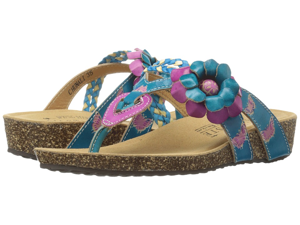 Spring Step - Chunali (Turquoise) Women's Shoes