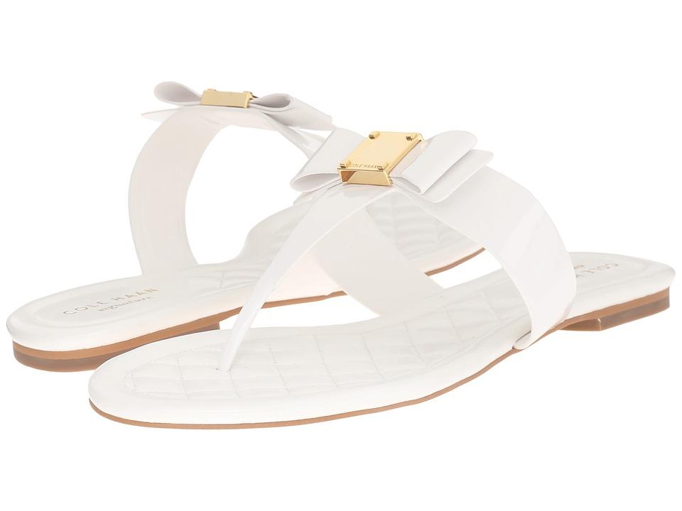 Cole Haan - Tali Bow Sandal (Optic White) Women's Sandals
