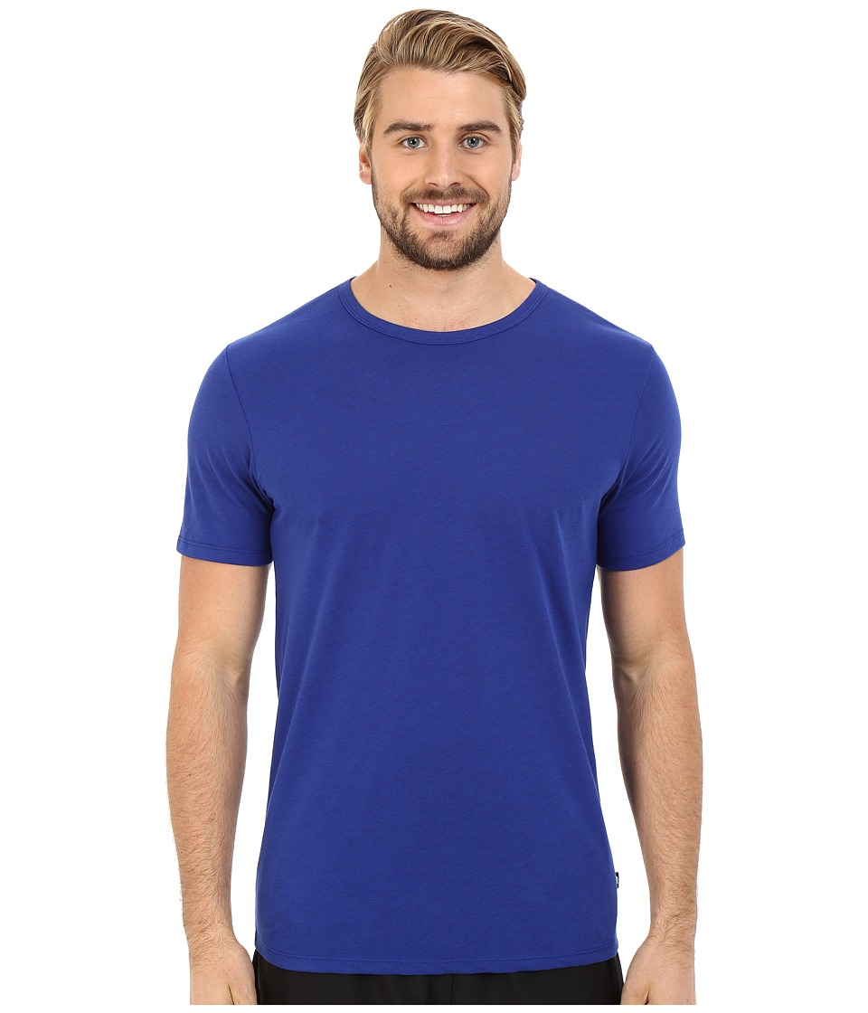 Nike - Solid Futura Tee (Deep Royal Blue/Black) Men's T Shirt