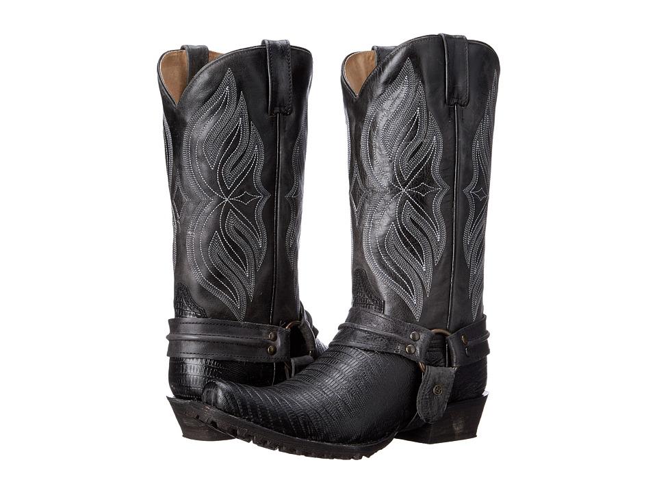 Roper - Scaler (Black) Cowboy Boots