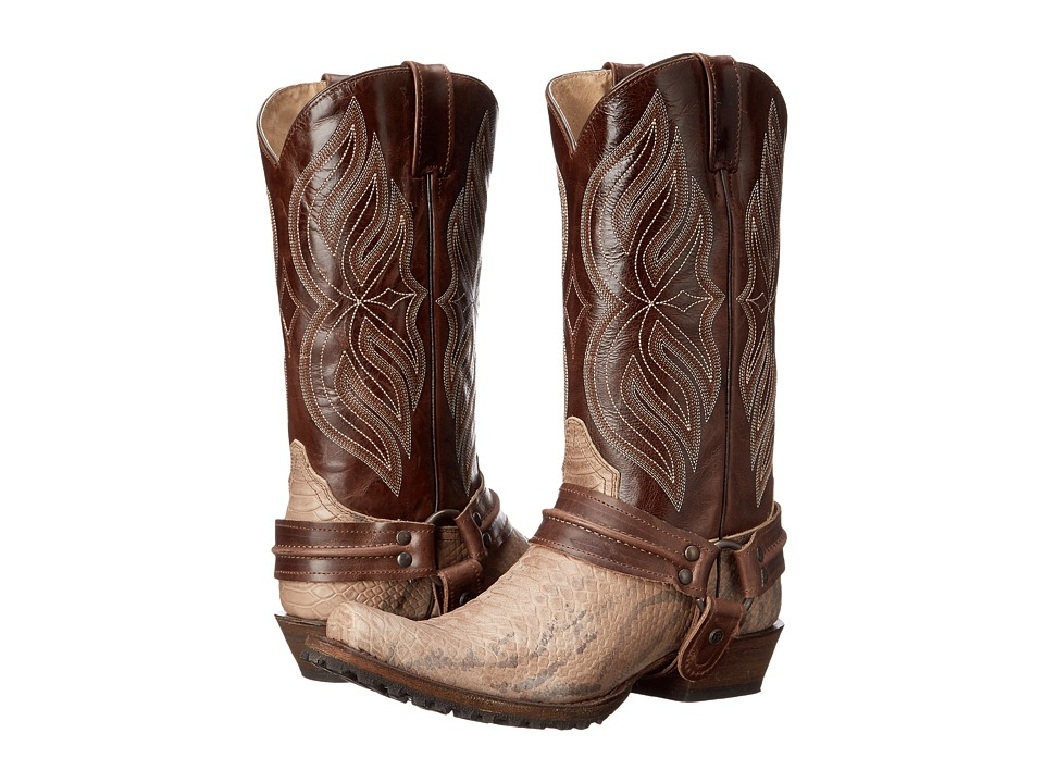 Roper - Twister (Light Beige) Cowboy Boots