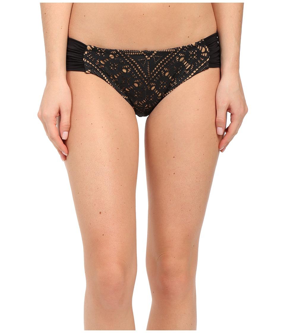 BECCA by Rebecca Virtue - La Boheme American Bottom (Black) Women's Swimwear