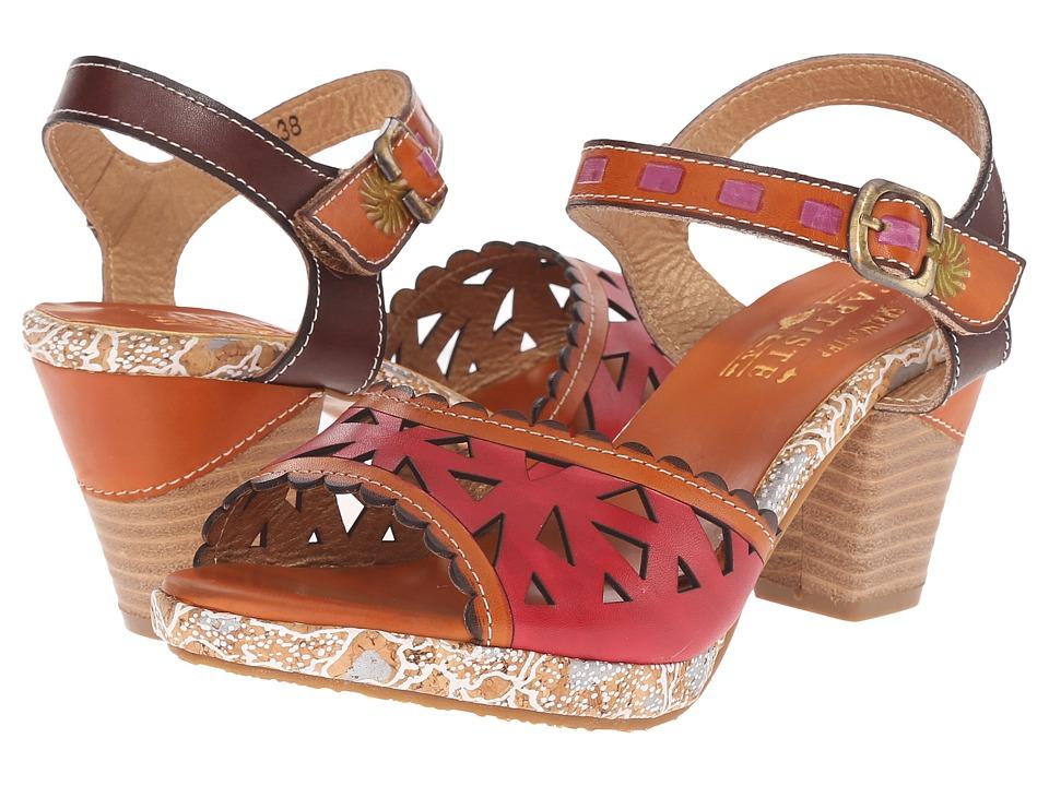L'Artiste by Spring Step - Acela (Camel) Women's Shoes
