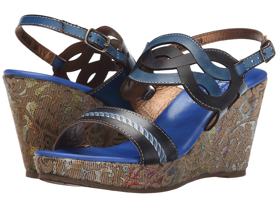 L'Artiste by Spring Step - Sharina (Blue) Women's Shoes