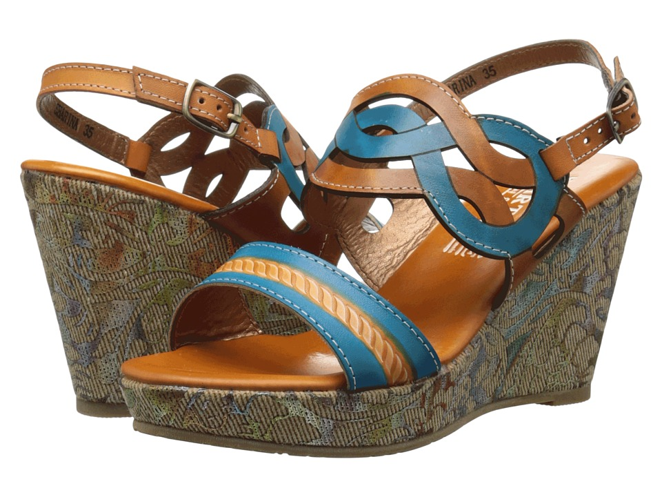 L'Artiste by Spring Step - Sharina (Camel) Women's Shoes