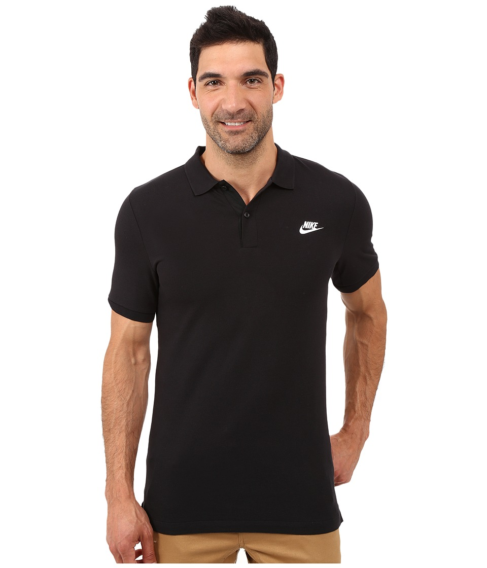Nike - Grand Slam Slim Polo (Black) Men's Clothing