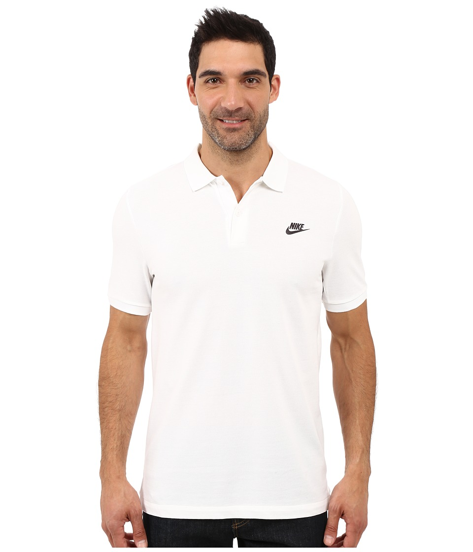 Nike - Grand Slam Slim Polo (White) Men's Clothing