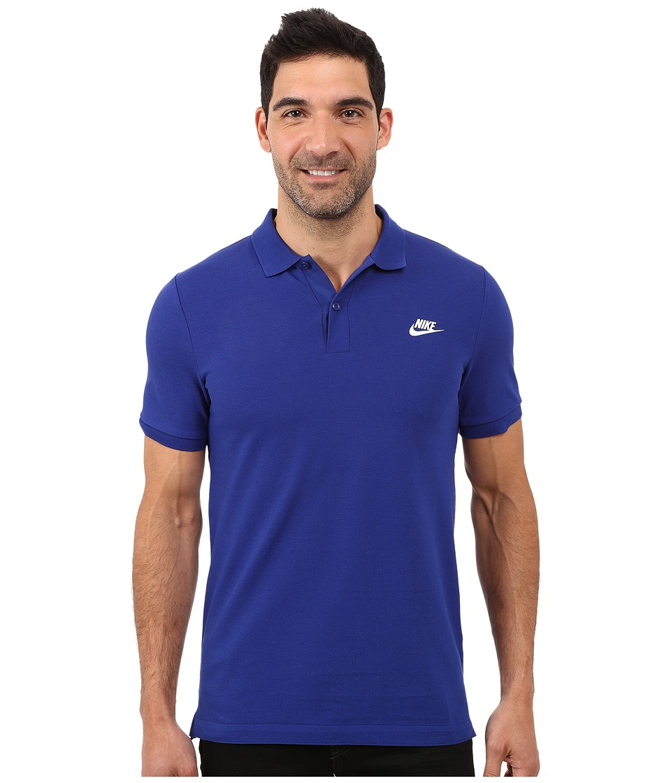 Nike - Grand Slam Slim Polo (Deep Royal) Men's Clothing