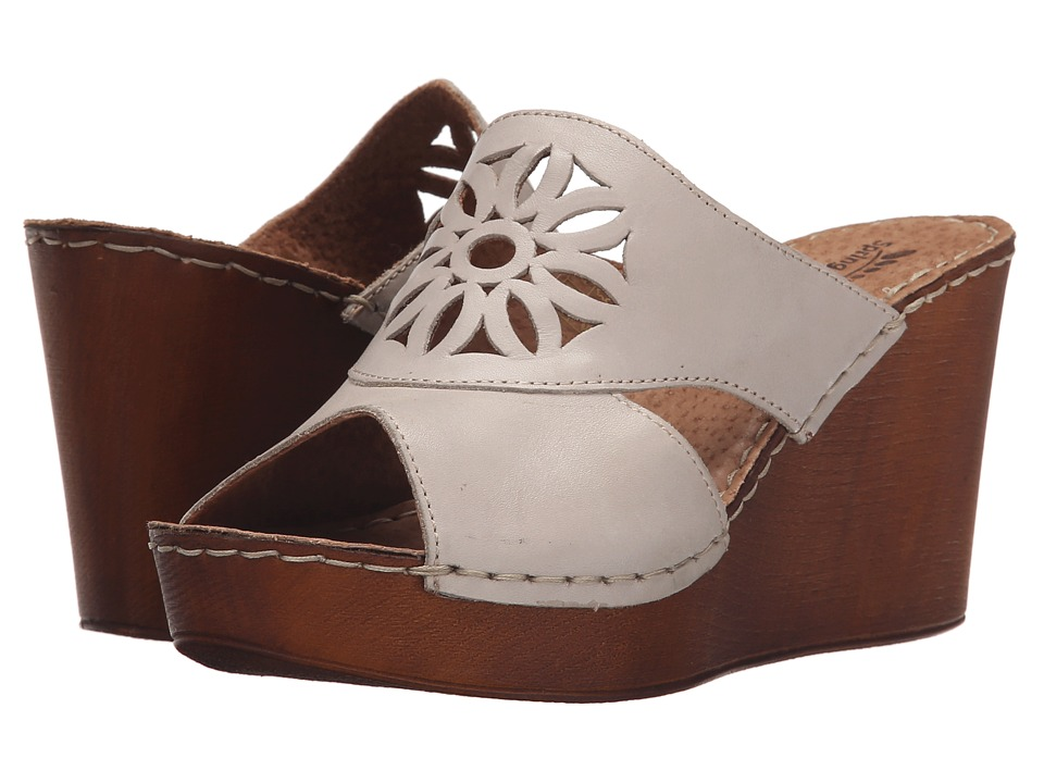 Spring Step - Beshka (Gray) Women's Wedge Shoes