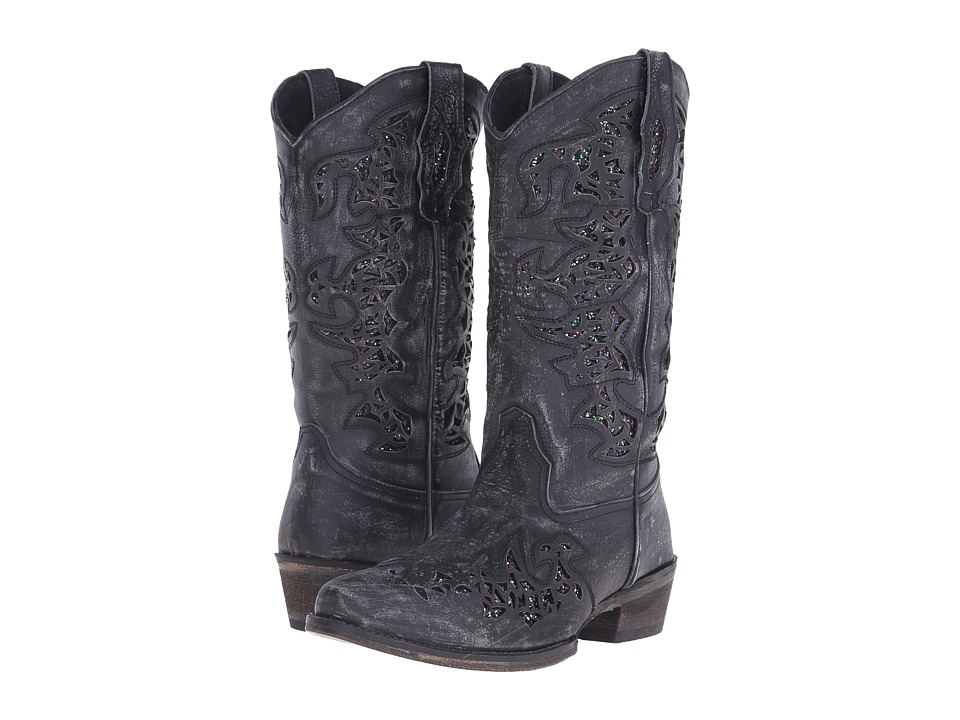 Roper - Shelby (Black) Cowboy Boots