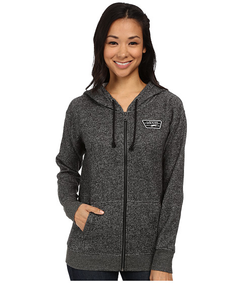 Vans - Interness Zip Hoodie (Black) Women's Sweatshirt