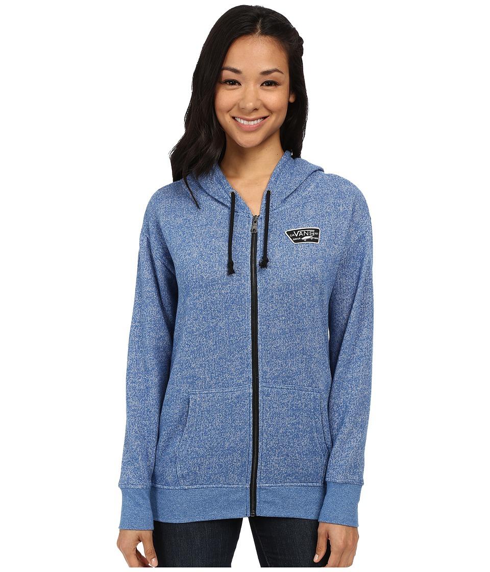 Vans - Interness Zip Hoodie (Nautical Blue) Women's Sweatshirt