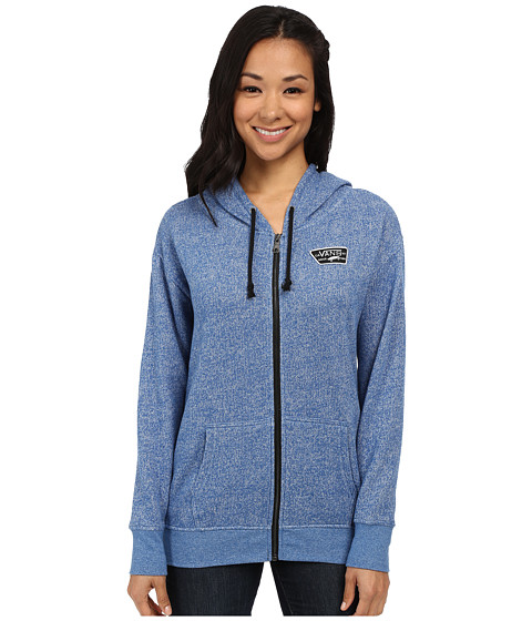 Vans - Interness Zip Hoodie (Nautical Blue) Women