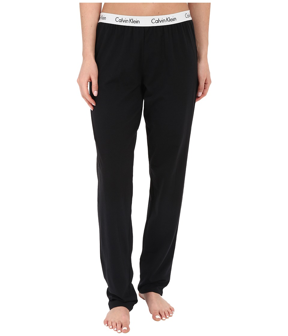 Calvin Klein Underwear - Shift Lounge Pants (Black) Women's Pajama