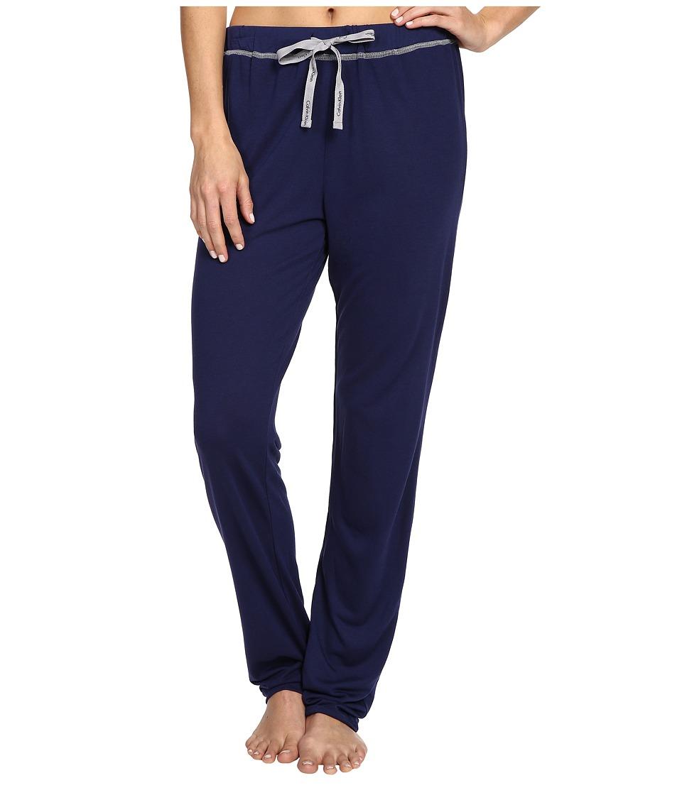 Calvin Klein Underwear - Liquid Lounge Jeresy Pants (Coastal) Women's Pajama