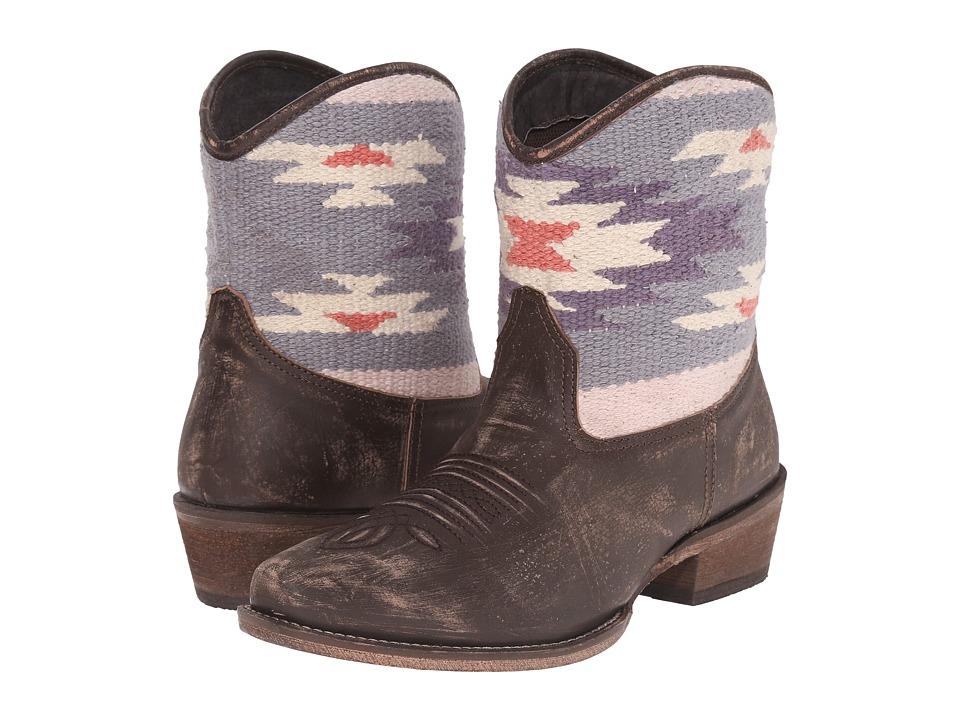 Roper Sky Serape (Brown) Cowboy Boots