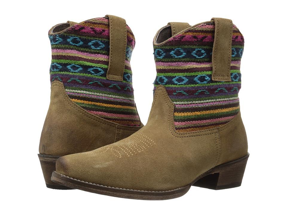 Roper - Becky Bright (Light Beige) Cowboy Boots