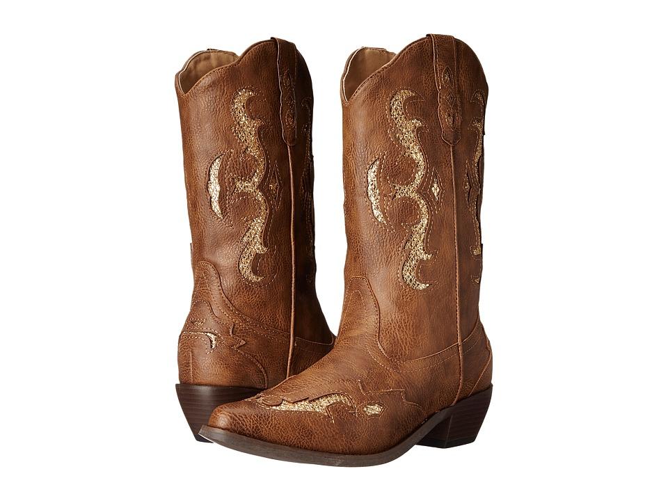 Roper - Clara Glitter (Light Beige) Cowboy Boots