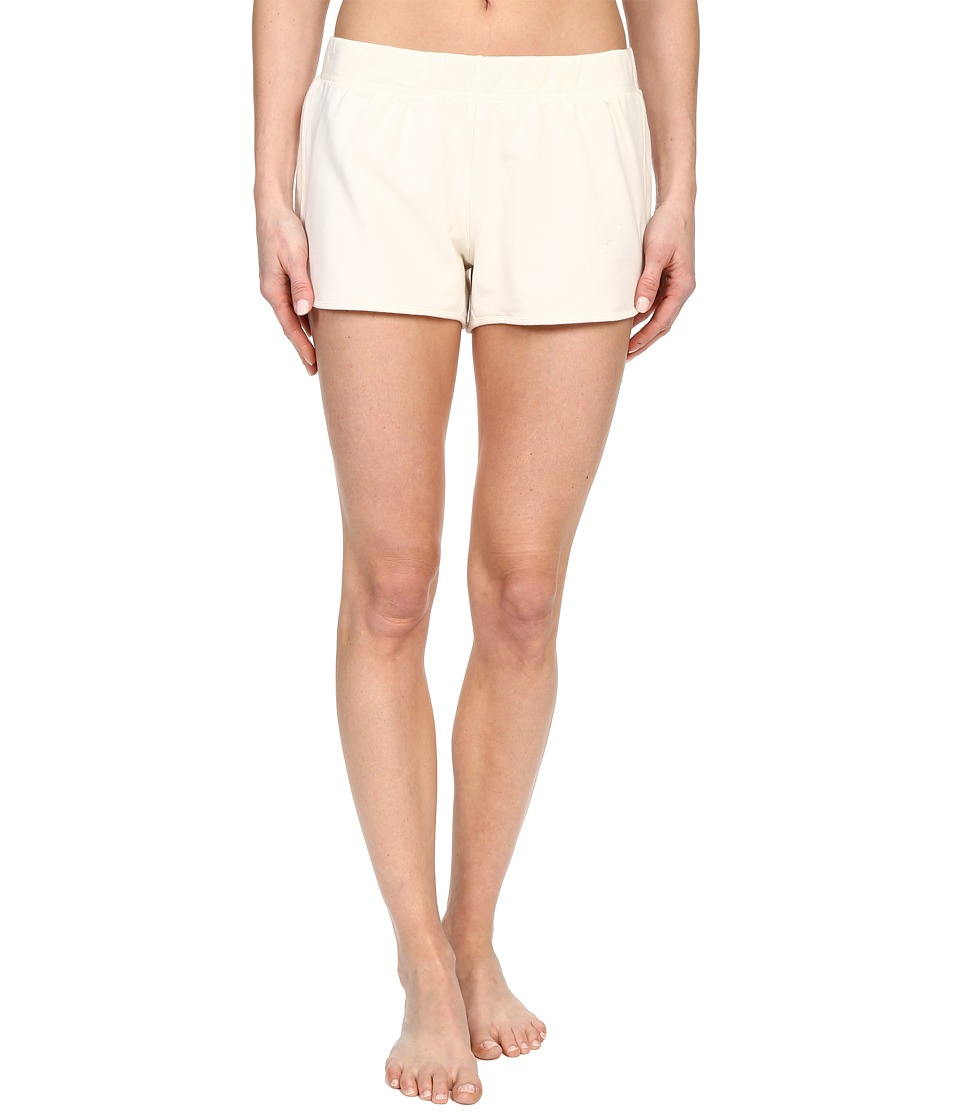 Yummie - Baby French Terry Dolphin Hem Shorts (Cream) Women's Pajama