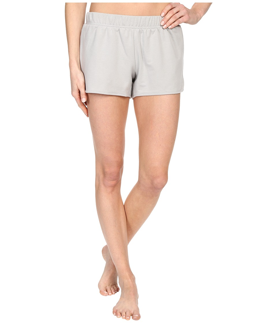 Yummie by Heather Thomson - Baby French Terry Dolphin Hem Shorts (Light Gray) Women's Pajama