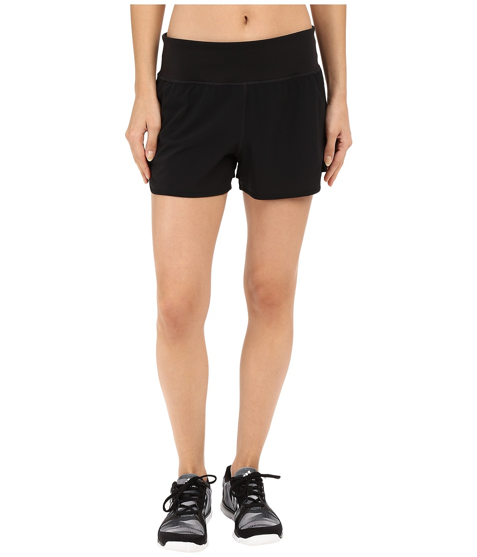 Yummie by Heather Thomson - Rip Stop Annabelle Shorts w/ Inner Panty (Black) Women's Shorts