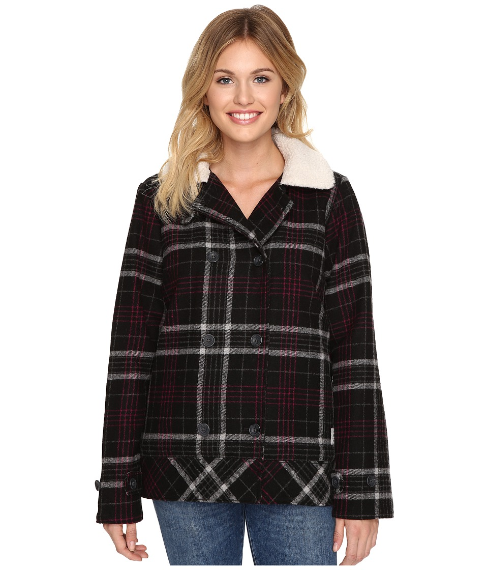 Vans - Spirit Animal Jacket (Black) Women's Coat