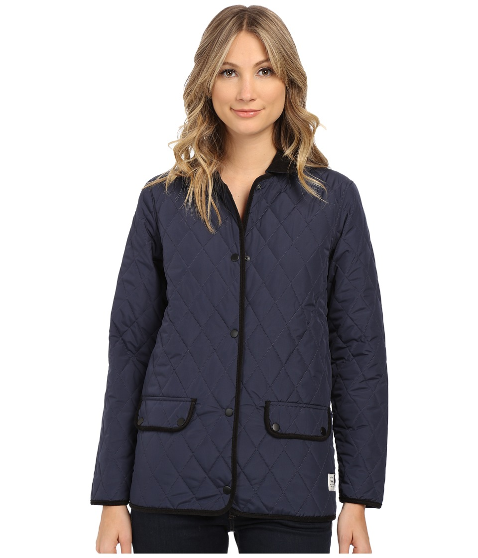 Vans - Hollygraph Jacket (Indigo) Women's Coat