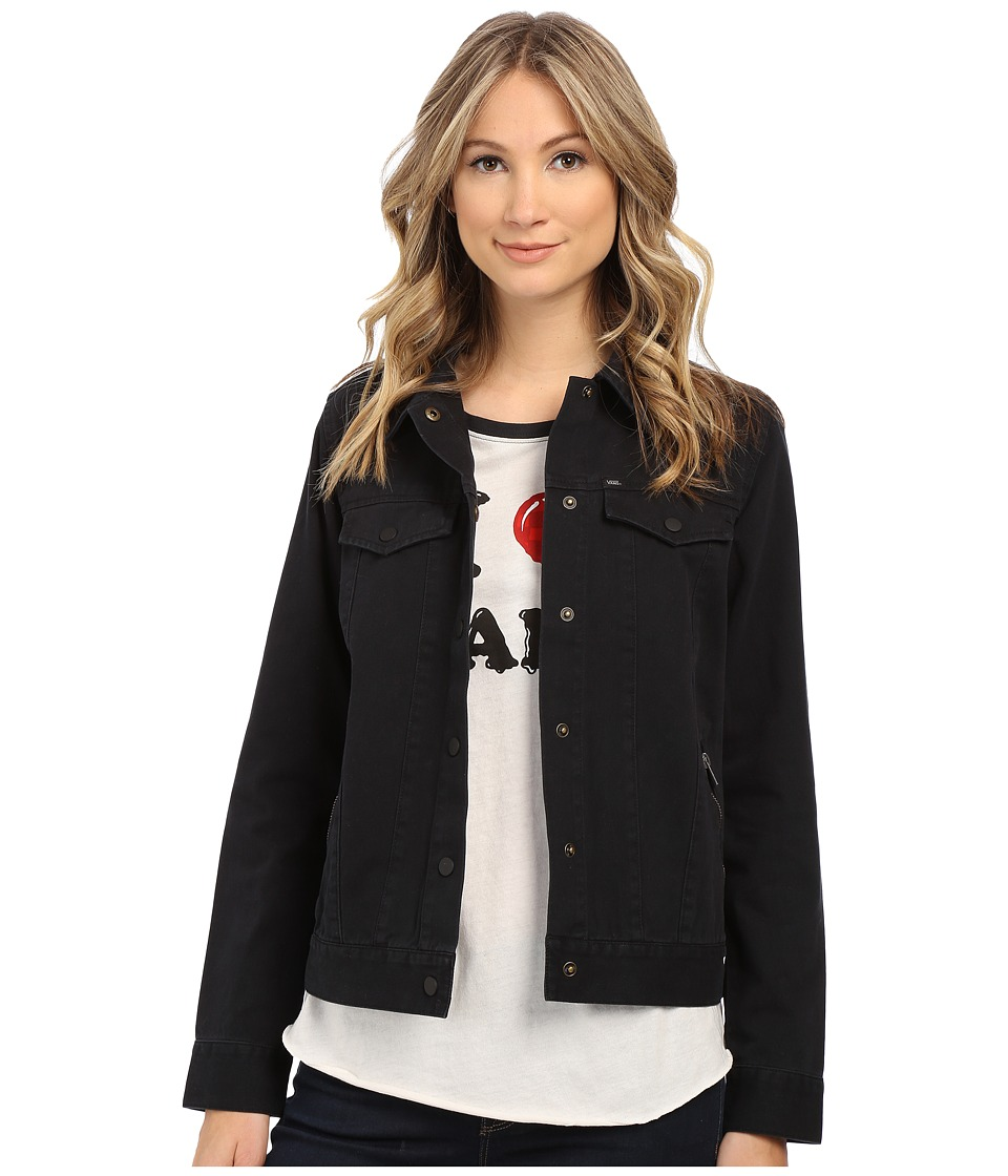 Vans - Future Class Jacket (Black) Women's Coat