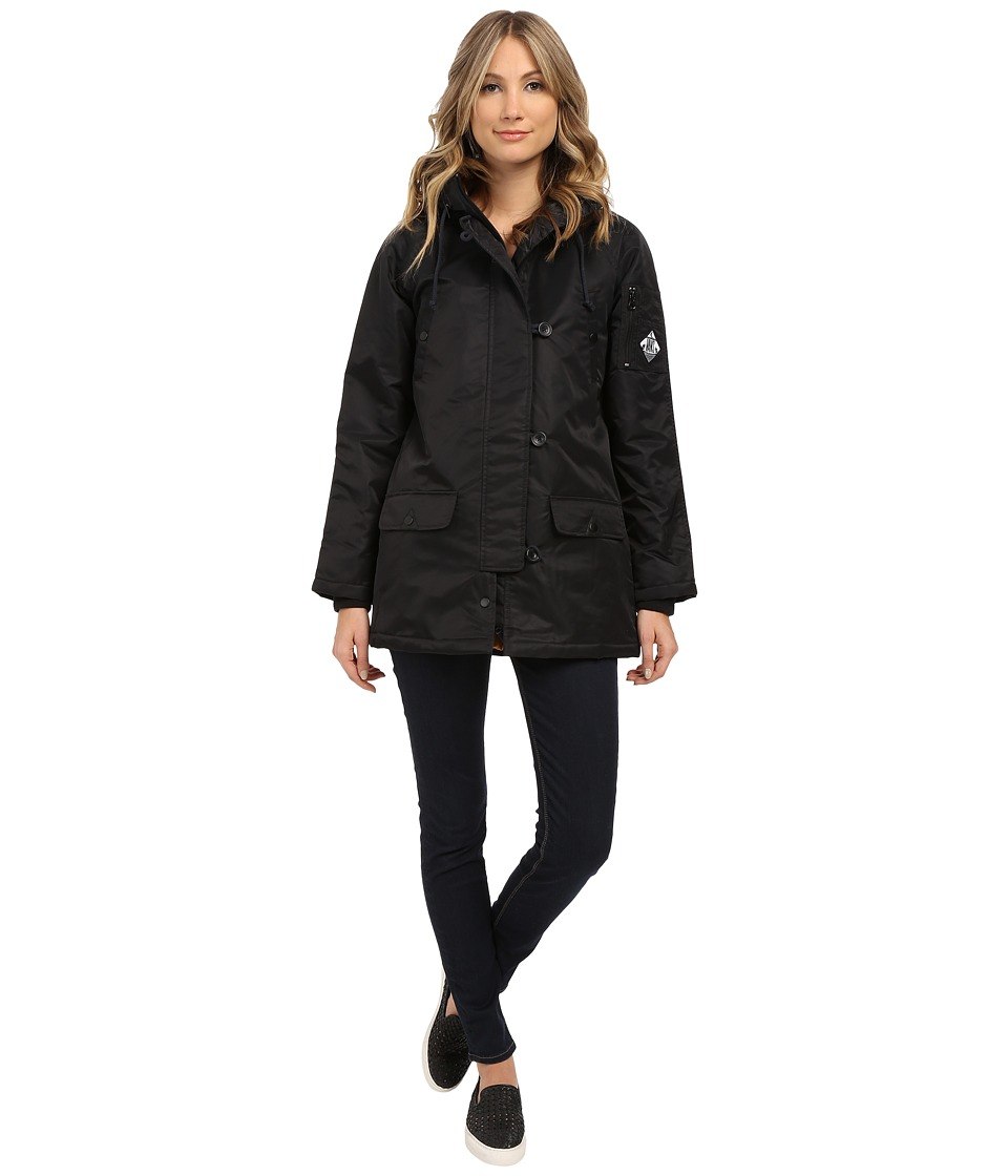 Vans - Fuego Parka (Black) Women's Coat