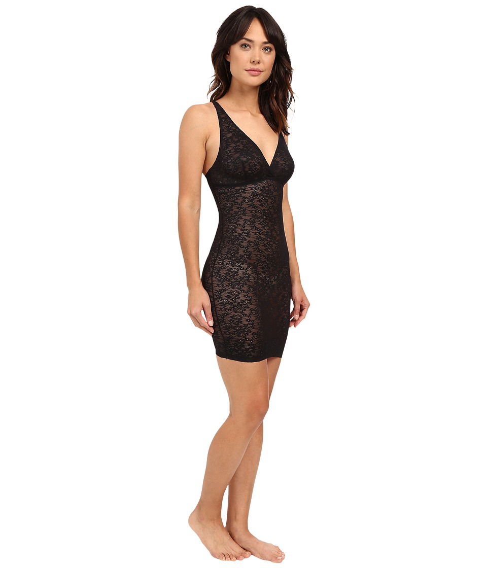 Yummie by Heather Thomson - Latrice All Over Lace Slip (Black) Women's Lingerie