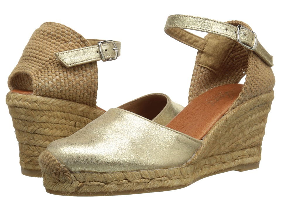 Spring Step - Antoine (Gold) Women's Shoes